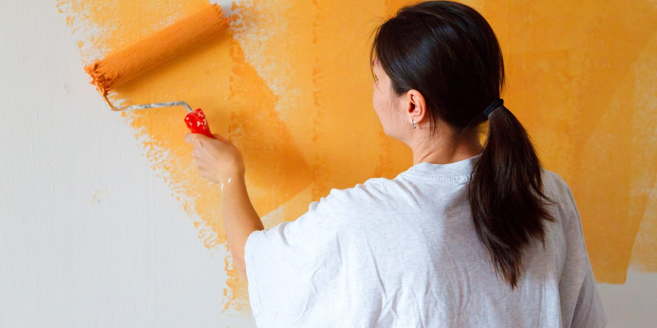 how to paint your bedroom walls
